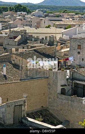 Majorcan village - Stock Photo