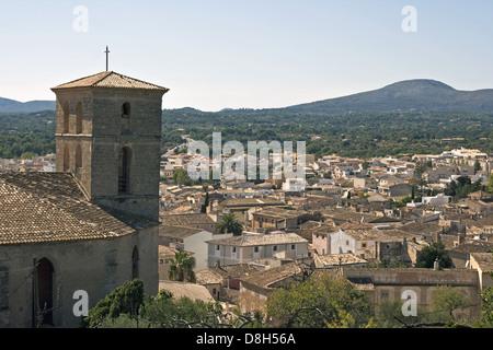 Majorcan village (Artá) - Stock Photo