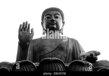 Big Buddha, Lantau Island, Hong Kong - Stock Photo