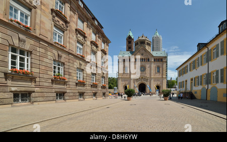 Speyer Cathedral - Stock Photo