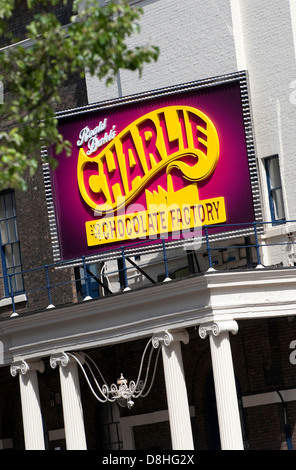 charlie and the chocolate factory, theatre royal, drury lane, london, england - Stock Photo
