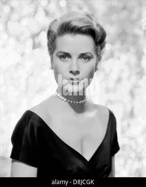 GRACE KELLY (1929-1982) US film actress about  1955 - Stock Photo