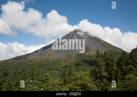 Arenal Volcano, La Fortuna, Costa Rica - Stock Photo