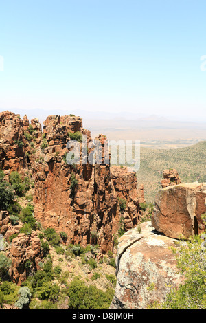 Valley of Desolation, Graaff Reinet, Eastern Cape, South Africa - Stock Photo