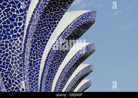 L'Umbracle, City of Arts and Sciences, Valencia, Spain - Stock Photo