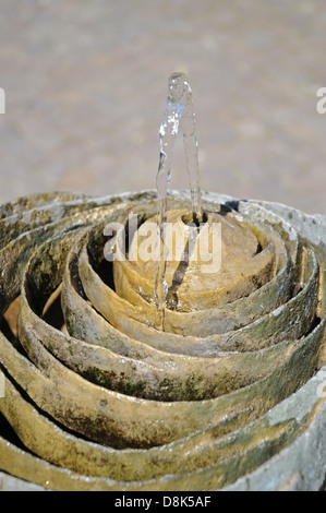 Trinkwasser Brunnen - Stock Photo