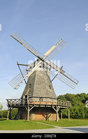 Cap windmill - Stock Photo