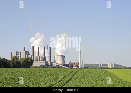 RWE brown coal power plant