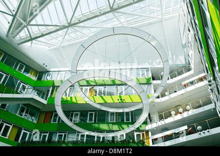 Unilever Germany headquarters, Hamburg, Germany - Stock Photo