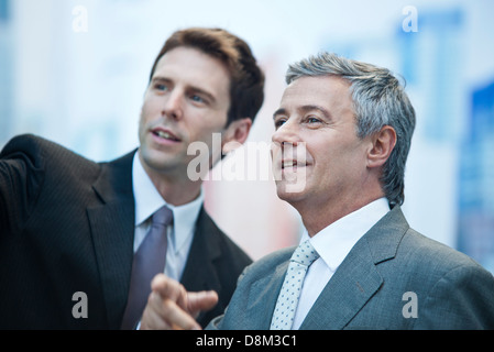 Business partners outdoors - Stock Photo