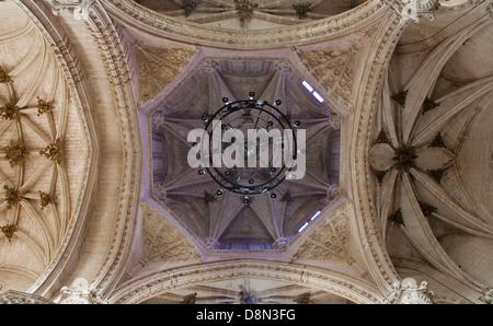 TOLEDO - MARCH 8: Gothic cupola of Monasterio San Juan de los Reyes - Stock Photo