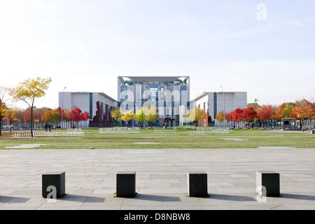 Bundeskanzleramt building, government district, Berlin, Germany, Europe - Stock Photo