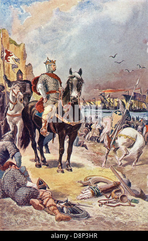 William I, also known as William the Conqueror, was the first Norman king of England (1066-1087). - Stock Photo