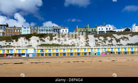 Viking Bay at Broadstairs, on the Isle of Thanet, Kent England UK - Stock Photo