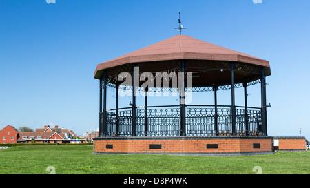 Deal Memorial Bandstand Walmer Kent England UK - Stock Photo