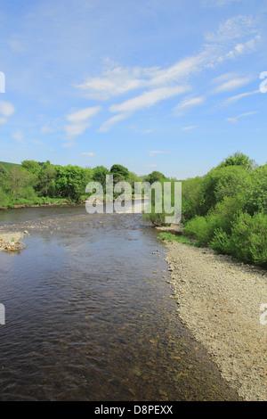 Ettrick Water, Ettrick Valley, Selkirk, Borders, Scotland, UK - Stock Photo