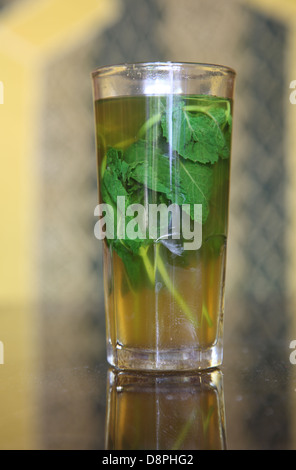 Traditional mint tea. Morocco, Africa Stock Photo, Royalty ...