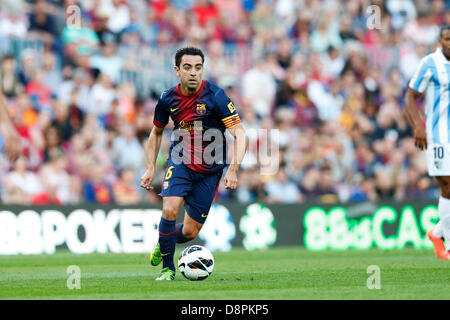 Barcelona, Spain. 1st June 2013. Xavi (Barcelona), JUNE 1, 2013 - Football / Soccer : Spanish 'Liga Espanola' match - Stock Photo