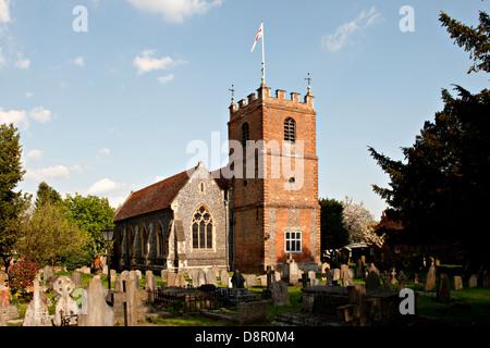 St James the Less Church in Pangbourne, Berkshire, UK - Stock Photo