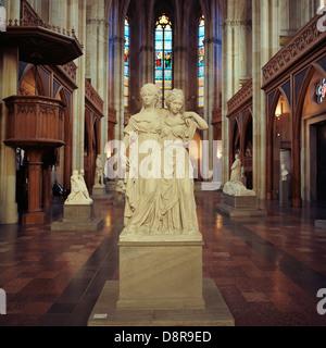 Berlin. Germany. Friedrichswerder church aka Schinkel Museum. Stock Photo