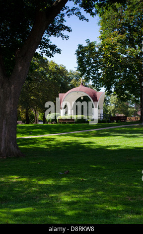 Bandshell in Montebello Park, St. Catharines Ontario Canada - Stock Photo