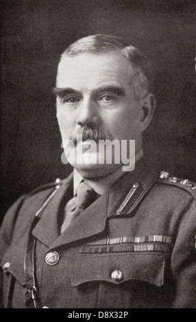 Field Marshal Sir William Robert Robertson, 1st Baronet, 1860 – 1933. British Army officer, Chief of the Imperial - Stock Photo
