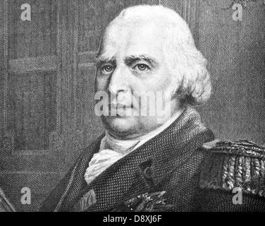Louis XVIII of France (1755-1824) - Stock Photo