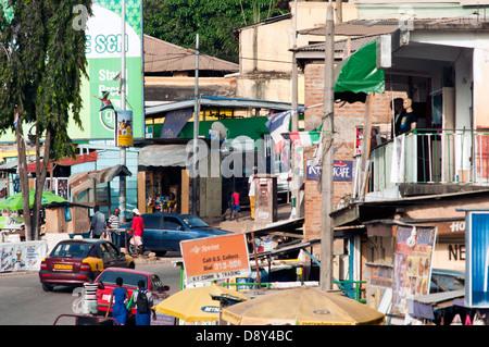 street scene, cape coast, ghana, africa - Stock Photo