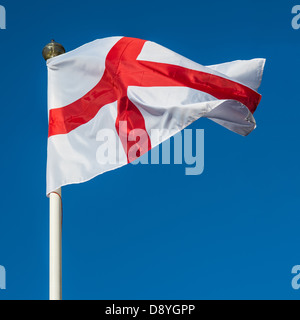 flag of st george national flag of england - Stock Photo