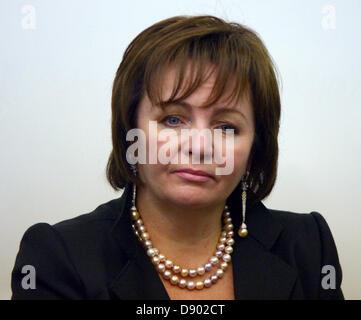 Sept. 17, 2007 - Sofia, Bulgaria - Pictured: September 17,2007. Ludmila Putina - wife of russian president Putin - Stock Photo