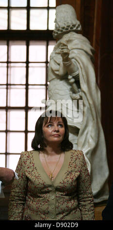 May 23, 2007 - The Vein, Austria - Pictured: July 23,2007. Ludmila Putina visited Austrian National Library in Viena. - Stock Photo