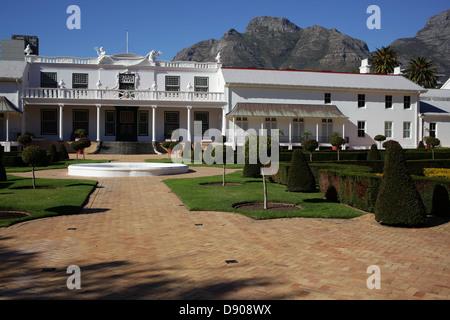 De Tuynhuys at The Company's Garden in Cape Town - Stock Photo