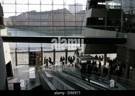 New building of The Royal Library ( Det Kongelige Bibliotek) - Stock Photo