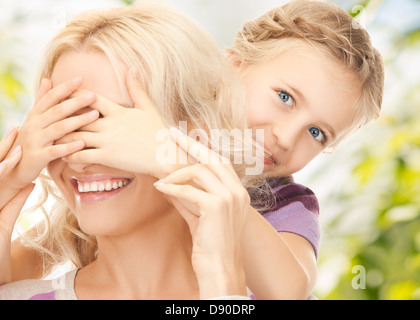 mother and daughter - Stock Photo