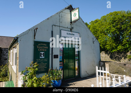 Glenarm Community Council office and Tourist Office - Stock Photo