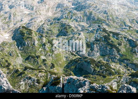 highlands in slovenia, central/eastern europe - Stock Photo