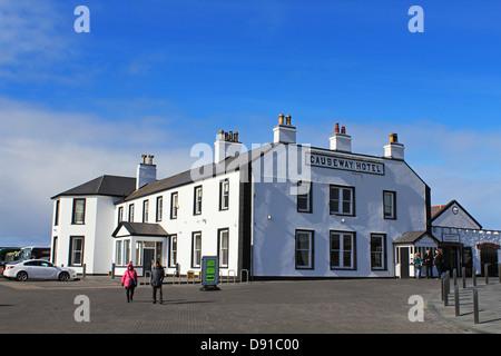 Causeway Hotel, Giant's Causeway hotel, County Antrim, Northern Ireland, UK - Stock Photo