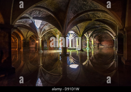 Portuguese Cistern in El Jadida, Morocco - Stock Photo
