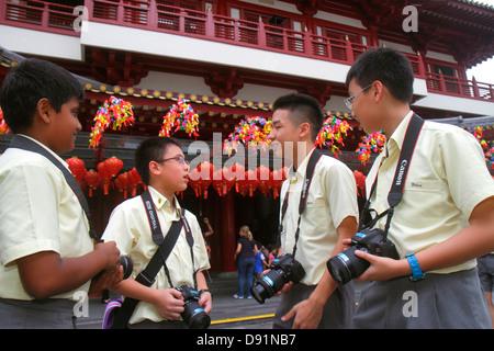Singapore, Southeast Asia, Chinatown, Asian Asians ethnic ethnics immigrant immigrants minority minorities, teen teens teenager teenagers youth adoles