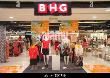 Singapore Bishan Place Junction 8 shopping mall complex front entrance BHG women's clothing shoes fashion inside - Stock Photo