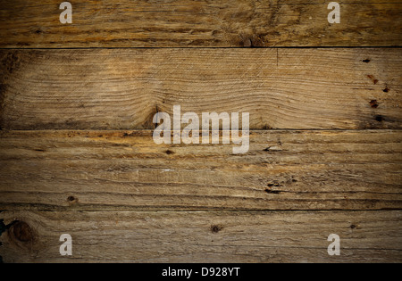 Antique and aged rustic wooden plank background great poster background for carpenters or adventure - Stock Photo