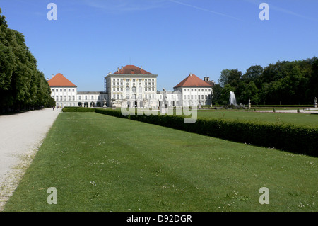 Nymphenburg Palace, Munich, Bavaria, Germany, 2011 - Stock Photo