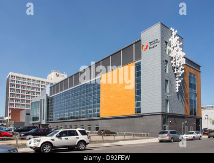 Teeside University Middlesbrougn UK - Stock Photo