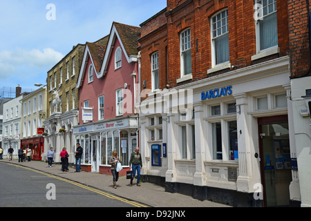 North Street, Bishop's Stortford, Hertfordshire, England, United Kingdom - Stock Photo