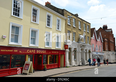 North Street, Bishop's Stortford, Hertfordshire, England, United Kingdom - Stock Photo