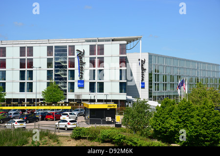 Radisson Blu Hotel at Stansted Airport, Stansted Mountfitchet, Essex, England, United Kingdom - Stock Photo