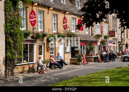 stow-on-the-wold, gloucestershire, england - Stock Photo