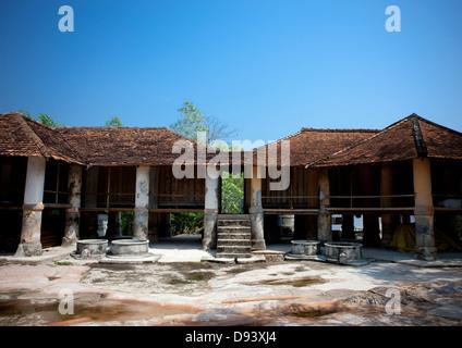 Pha Bat Monastery, Pakse, Laos - Stock Photo