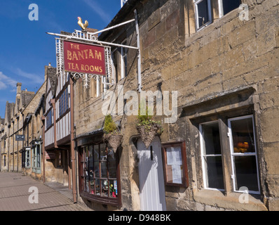 The Bantam tea rooms Chipping Campden Cotswolds UK - Stock Photo