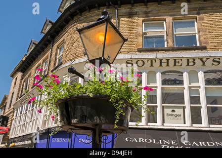 Harrogate in North Yorkshire formerly the West Riding of Yorkshire. The North of England. - Stock Photo